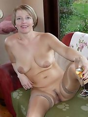 Mature dame seducing like a pro