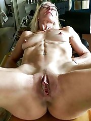 Mature granny get ready for sex