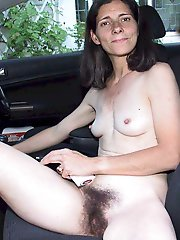 Russian aged mama getting nude