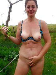 Awesome mature girlfriends are touching themselves