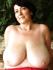 Hottest mature mademoiselles having unshaved slit