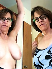 Libidinous old tart get undressed for you