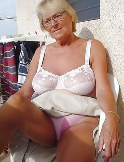 Real amateur photos of amazing hot grannies