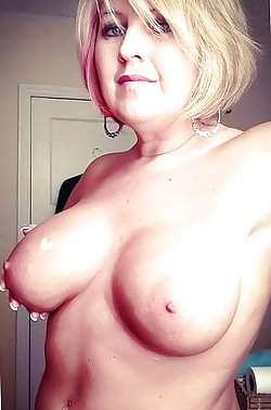 Cock addicted mature mommies spreading their pussy lips