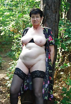 Sexy grannies with saggy tits