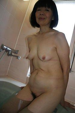 Asian matures posing naked