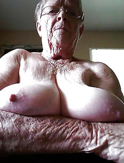 Impressive granny baring it all on cam
