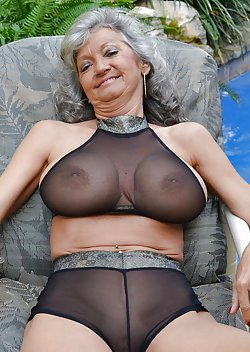 Sexy older women with massive natural tits