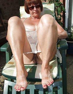 Juicy matures with huge titties