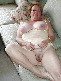 Sexy as hell grannies spreading legs for you