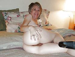 Awesome mature slut for any taste