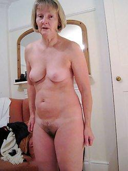 Elegant naked grannies are enjoying nudism