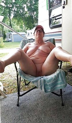 Attractive older strumpets getting nude