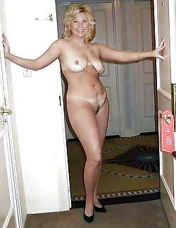 Alluring lasses posing nude on camera