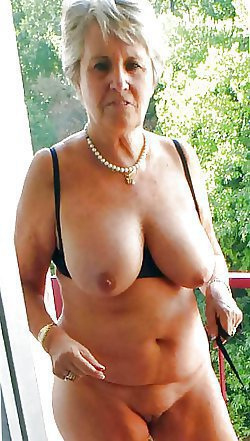 Lustftul matures are posing fully naked and playing with the nipples
